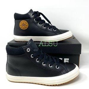 Converse Ctas PC Boot Leather Black Caramel Women